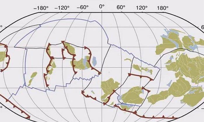 Quá trình dịch chuyển của mảng kiến tạo trong một tỷ năm