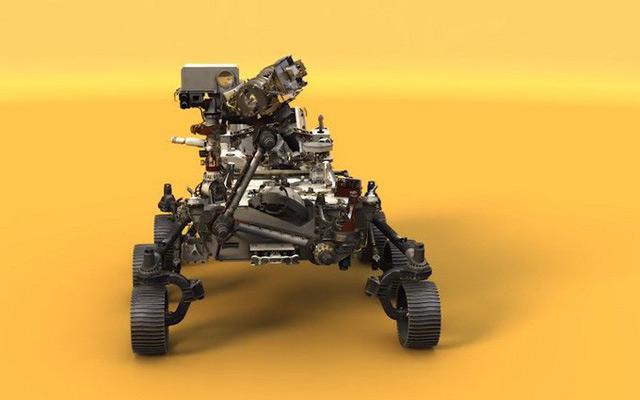 Quá trình sơn tàu thăm dò Sao Hỏa phức tạp và tỉ mỉ thế này đây