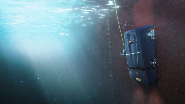 Robot dọn sạch vỏ tàu, cứu tinh cho ngành hàng hải
