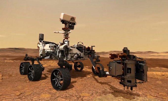 Robot NASA có thể thu âm thanh đầu tiên trênhành tinh khác