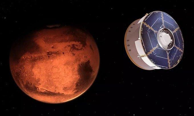 Robot NASA sắp đối mặt 7 phút kinh hoàngtrên sao Hỏa