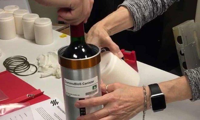 Rượu quý từ vũ trụ sắp trở về Trái đất