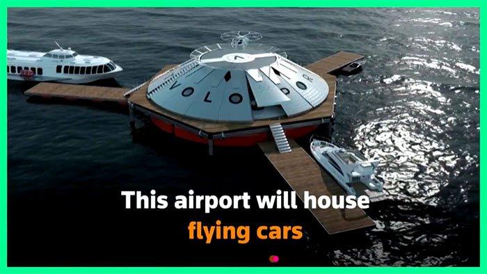 Sân bay dành cho ô tô bay đầu tiên ở Anh