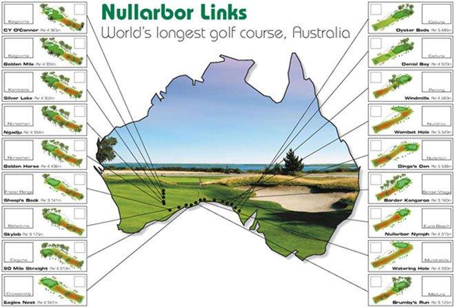 Sân golf dài nhất thế giới, phải mất khoảng 5 ngày để có thể hoàn thành một vòng golf
