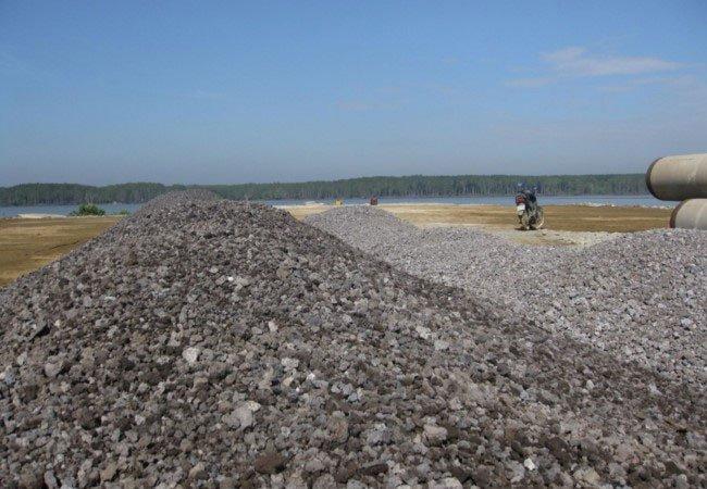 Sản xuất cát nhân tạo từ xỉ thải nhà máy luyện gang