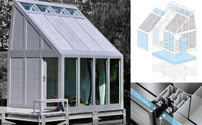 Sáng chế cửa sổ chứa nước giúp điều hòa nhiệt độ trong nhà