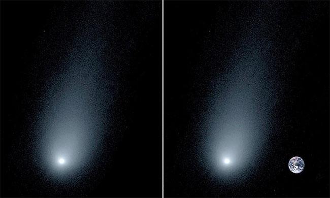 Sao chổi du hành liên sao sắp bay gần Trái đất nhất