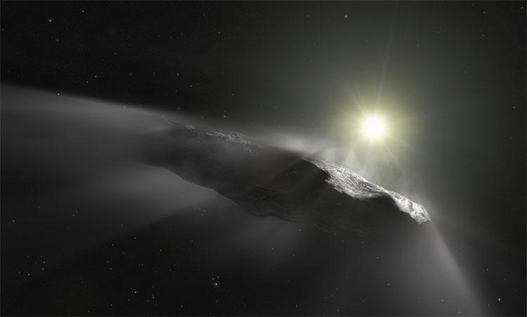 Sao chổi và các tiểu hành tinh reo rắc sự sống khắp thiên hà?