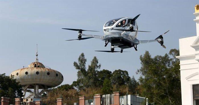 Sắp vận hành máy bay không người lái đầu tiên trên thế giới