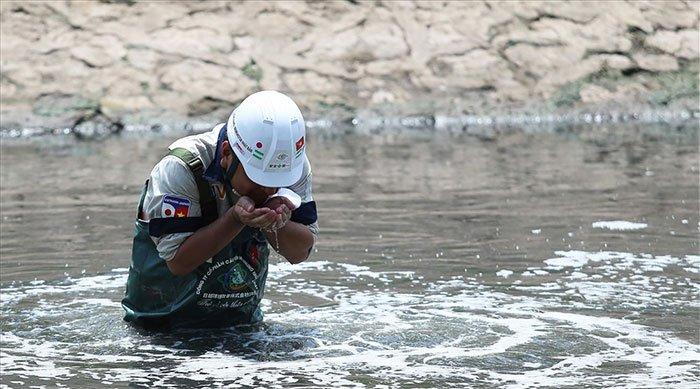 Sau 20 ngày chuyên gia Nhật thí nghiệm, nước sông Tô Lịch ra sao?