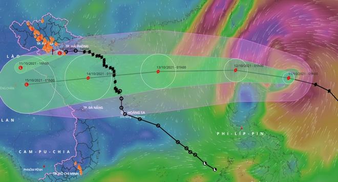 Sau bão số 7, Biển Đông hứng thêm bão cấp 11