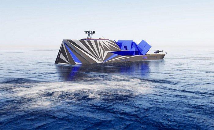 Siêu du thuyền tàng hình trị giá 110 triệu đô