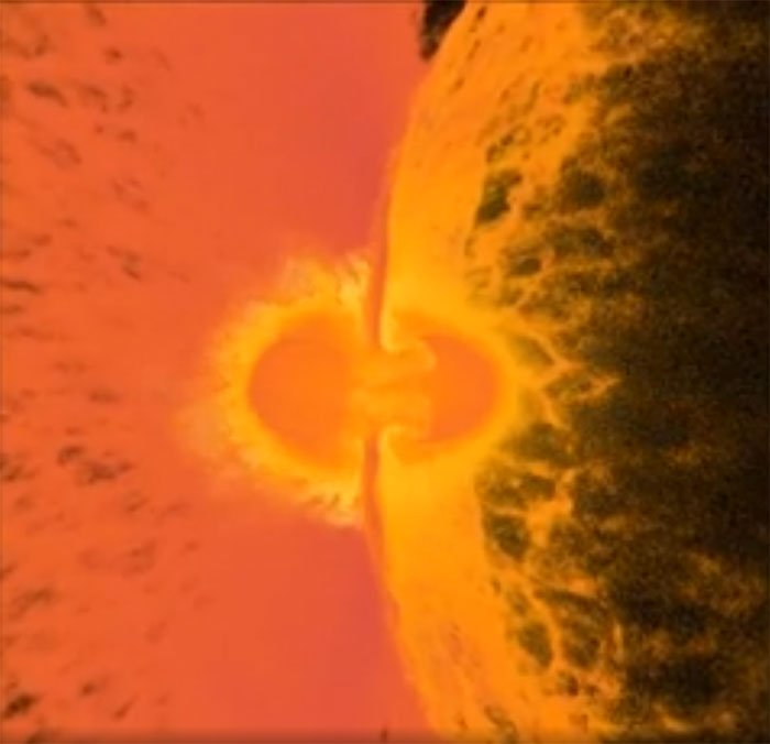 Siêu máy tính mô phỏng vụ va chạm giữa hai hành tinh