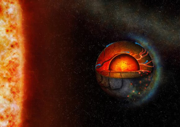 Siêu Trái đất 2 mặt đáng sợ sở hữu thứ giúp địa cầu có sự sống