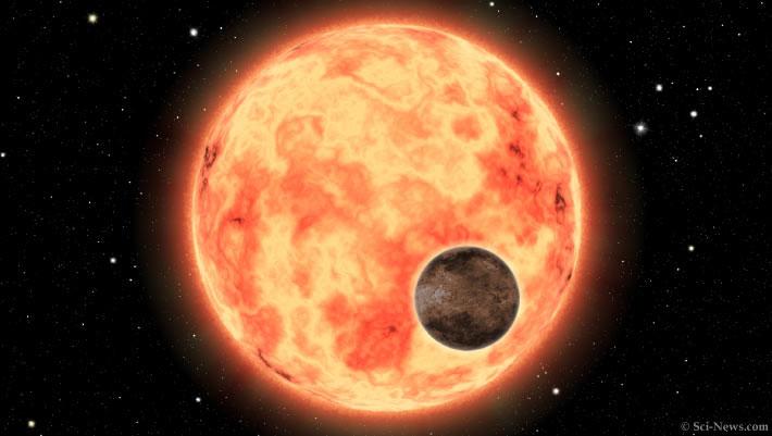 Siêu Trái đất nóng hơn 1800 độ xuất hiện cạnh bản sao Mặt trời