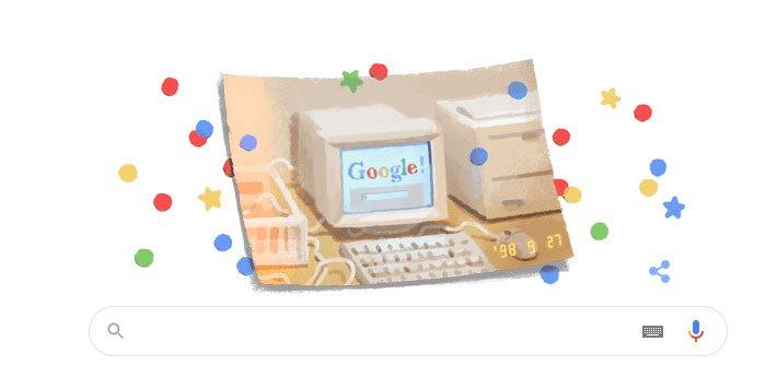 Sinh nhật Google lần thứ 21: Tiết lộ thú vị về cái tên của gã khổng lồ tìm kiếm