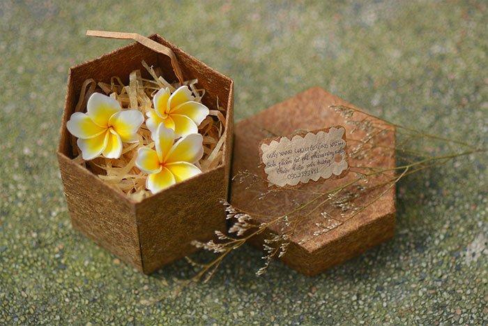 Sinh viên Việt Nam làm giấy từ thân cây chuối
