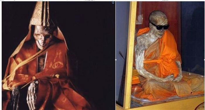 Sokushinbutsu: Thuật ướp xác khi còn sống ở Nhật Bản