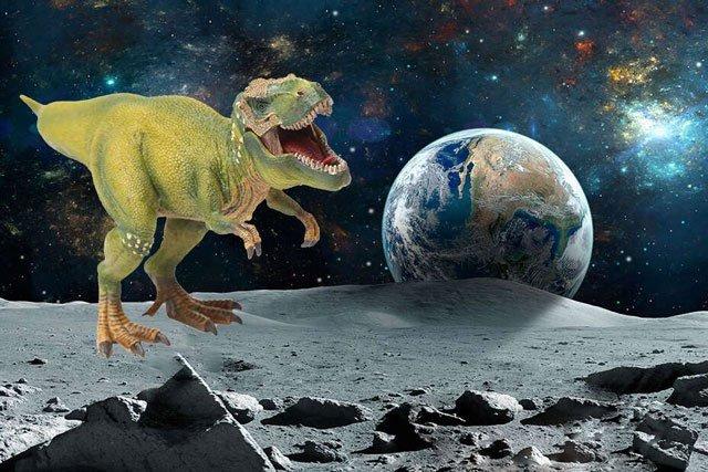 Sự kiện đại tuyệt chủng có thể khiến xác khủng long văng lên tận... Mặt trăng