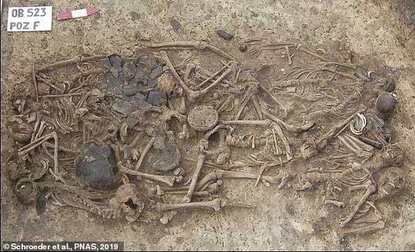 Sự thật gây sốc trong ngôi mộ cổ được tìm thấy ở Ba Lan