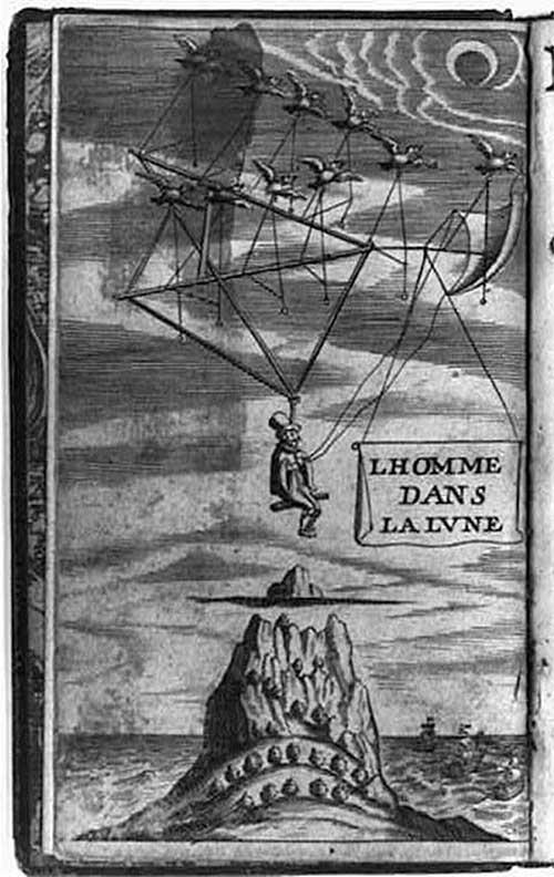 Sự thật ít biết về tàu vũ trụ tưởng tượng thời xưa