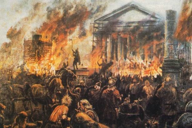 Sự thật té ngửa về thủ phạm thiêu rụi thành Rome