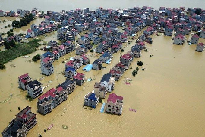 Tại sao châu Á điêu đứng vì lũ lụt?
