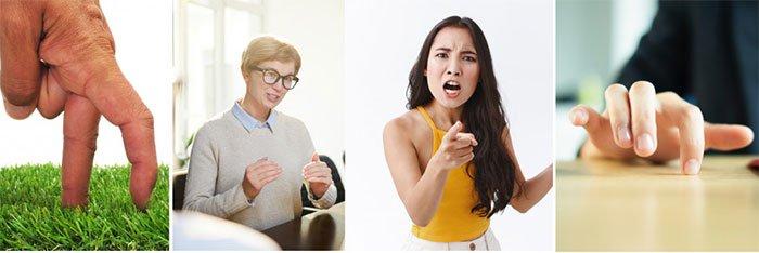 Tại sao chúng ta dùng cử chỉ tay khi nói chuyện?