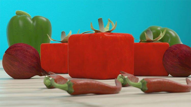 Tại sao chúng ta không thấy các loại rau quả hình vuông?