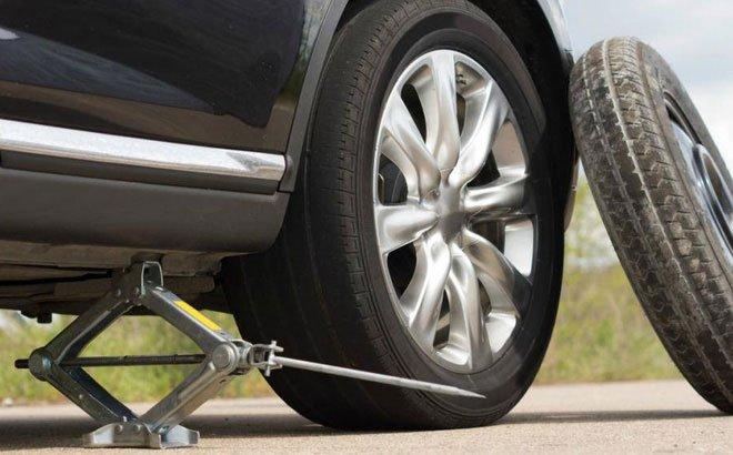 Tại sao lốp dự phòng theo xe chỉ sử dụng trong thời gian ngắn?
