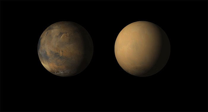 Tại sao sao Hỏa không còn nước? Những tháp bụi khổng lồ trên hành tinh có thể ẩn chứa câu trả lời!