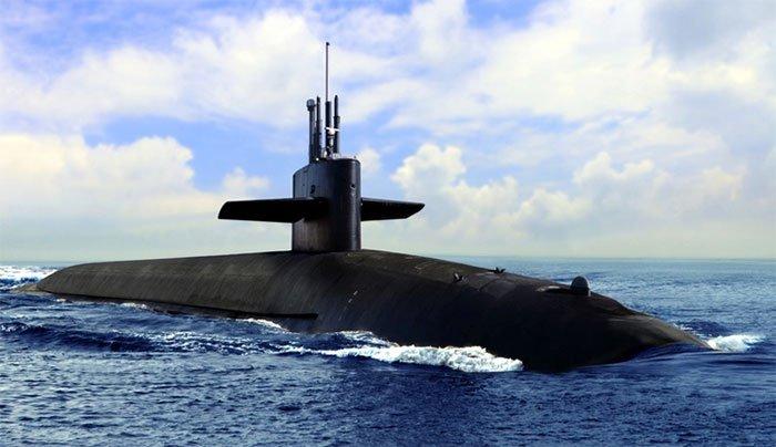 Tại sao tàu ngầm thường có màu đen?