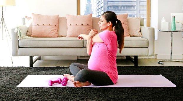 Tập thể dục khi mang thai có thể giảm nguy cơ béo phì ở trẻ em