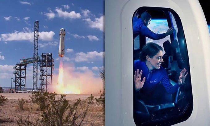 Tàu du lịch vũ trụ bắt đầu thử nghiệm chở người