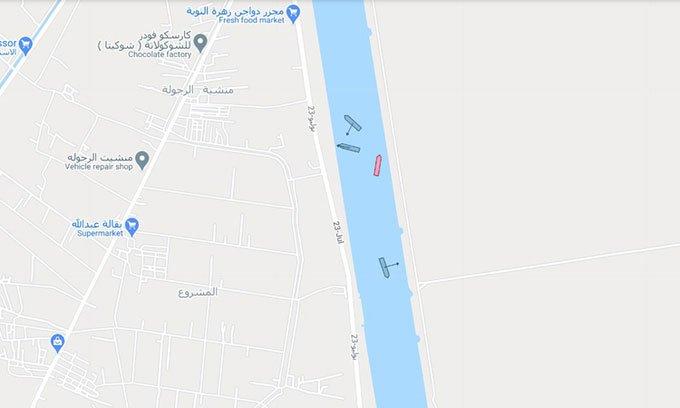 Tàu mắc cạn kênh đào Suez đã được giải cứu thành công