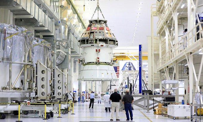 Tàu NASA sẵn sàng bay đến Mặt trăng vào năm sau