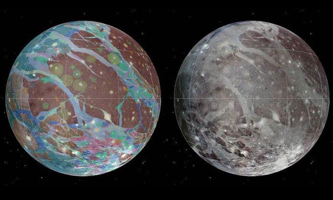Tàu NASA sắp tiếp cận mặt trăng lớn nhất Hệ Mặt trời
