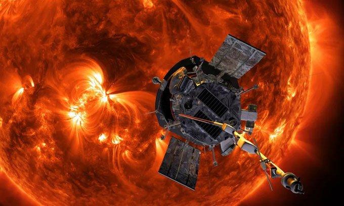 Tàu NASA tiếp cận Mặt trời với tốc độ 470.000km mỗi giờ