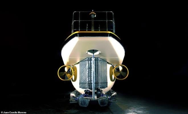 Tàu ngầm vô cực mà tỷ phú Phạm Nhật Vượng đặt mua đắt cỡ nào?
