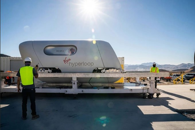 Tàu siêu tốc Hyperloop sử dụng công nghệ bay tốc độ 1.000 km/h
