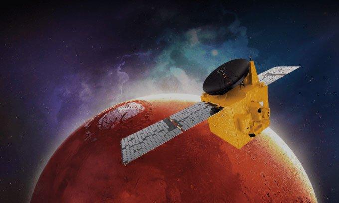 Tàu thăm dò của UAE tới quỹ đạo sao Hỏa vào ngày mai