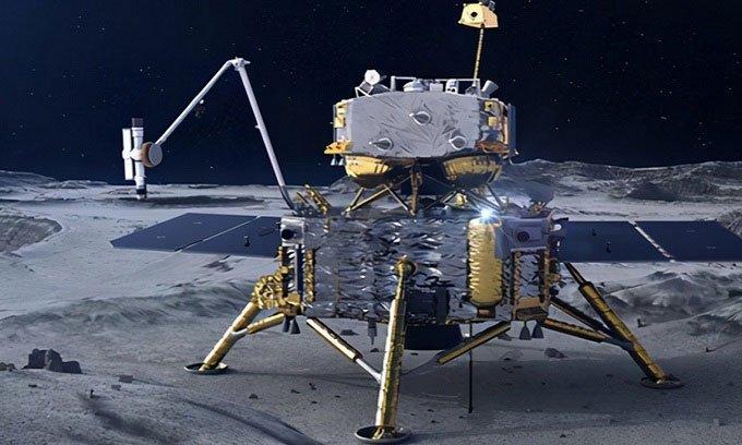 Tàu Trung Quốc sẽ lấy mẫu vật vùng tối Mặt trăng năm 2024