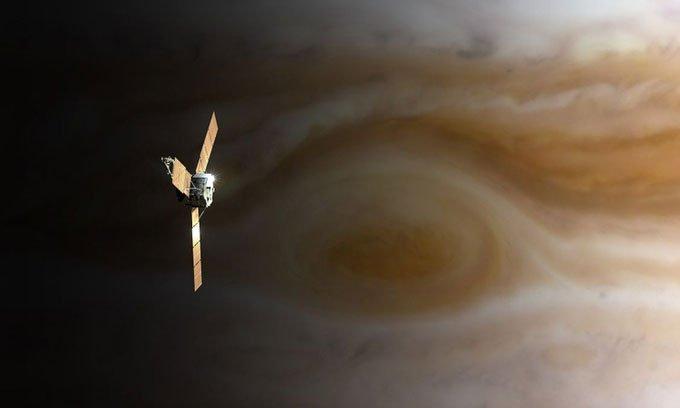 Tàu vũ trụ có thể bay xuyên hành tinh khí khổng lồ không?
