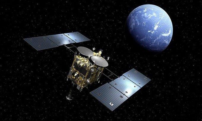 Tàu vũ trụ Nhật Bản đem mẫu vật tiểu hành tinh về Trái đất