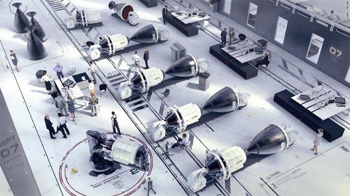 Tên lửa hạt nhân có thể đưa nhà phi hành lên sao Hỏa chỉ trong 3 tháng