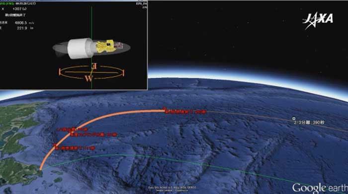 Tên lửa mang vệ tinh Việt Nam được phóng thành công vào không gian