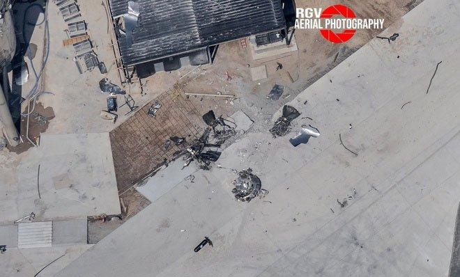 Tên lửa SpaceX lại phát nổ khi hạ cánh, mảnh vỡ bay xa 8km
