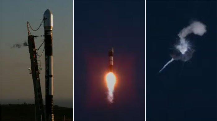 Tên lửa vũ trụ Alpha nổ tung ít phút sau lần phóng đầu tiên