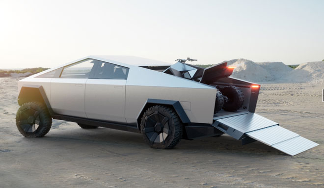 Tesla ra mắt Cybertruck: Tăng tốc nhanh hơn cả siêu xe thể thao, chạy 800km mới cần sạc pin