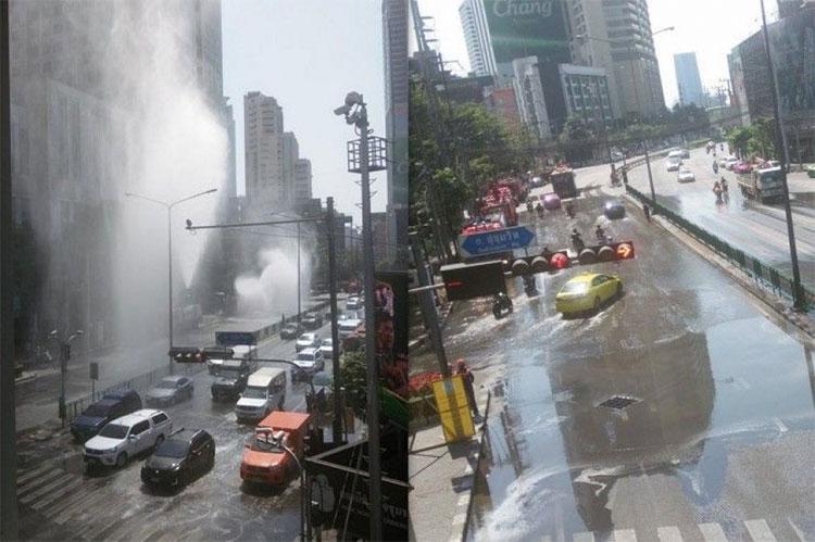 Thái Lan phun nước đường lên trời chống... ô nhiễm